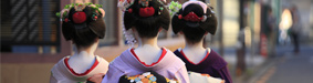 Traditional Japanese Ladies